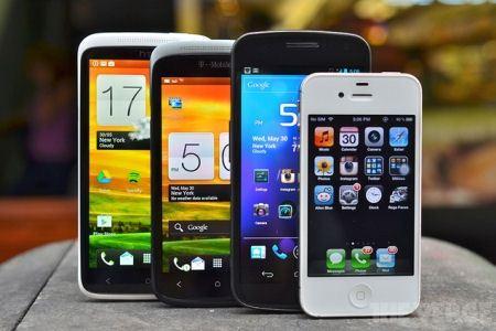 Многообразие смартфонов