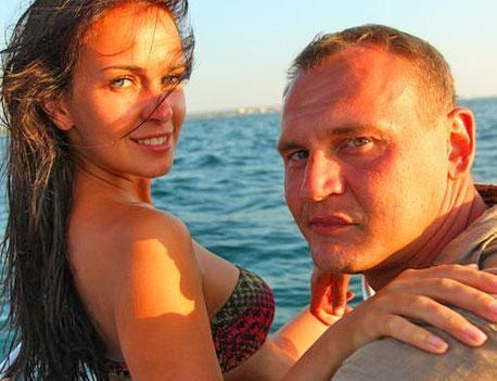 Степан Меньшиков с будущей женой