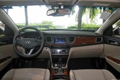 Салон Hyundai Mistra
