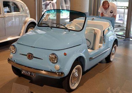 Усовершенствованная версия классического Fiat 500