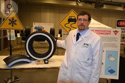 Канадцы подошли к разработке шин по-научному