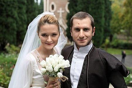 Свадьба Резо Гигинеишвили и Нади Михалковой