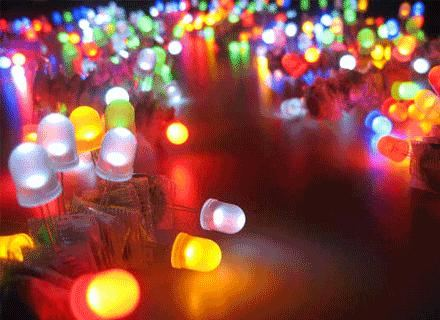 Светодиодные светильники могут иметь любую форму
