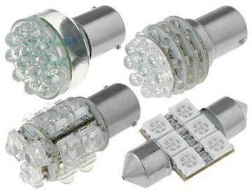 Такие лампы могут иметь разную форму