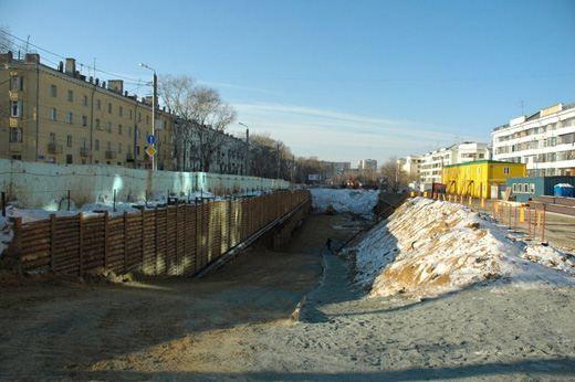 Строительство метро в Челябинске сейчас почти полностью заморожено
