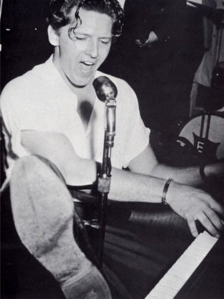 Jerry Lee Lewis in his youth
