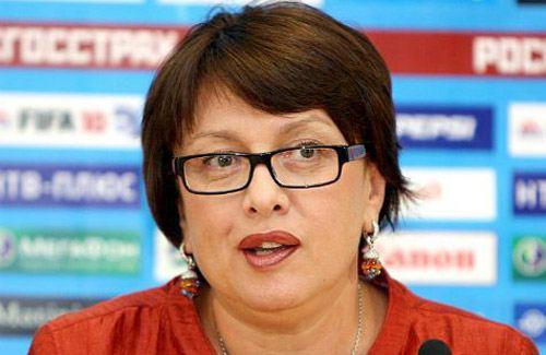 Ольга Смородская, президент ФК «Локомотив»