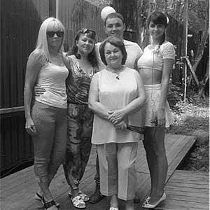 Семья Гобозовых и Устиненко