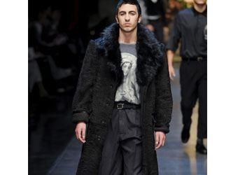 Дизайнеры разрешают мужчинам носить меха