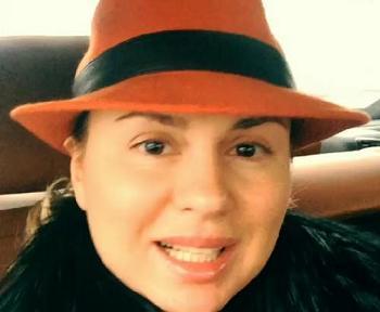 Анна Семенович без косметики