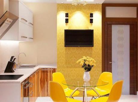 Вид квартиры после работы дизайнера