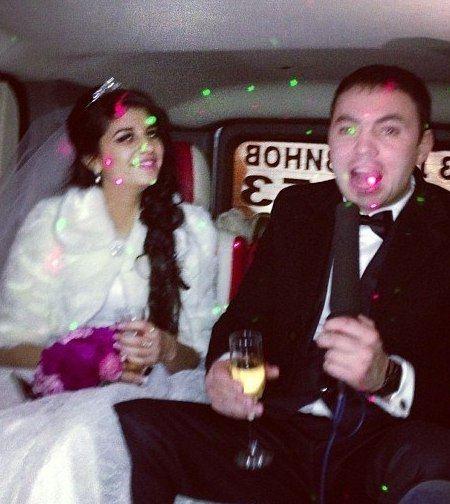Свадьба Алианы Устиненко и Александра Гобозова