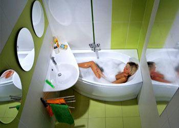 После ремонта ванная станет любимым местом отдыха