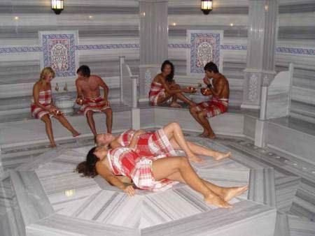 Отдых в турецкой бане запоминается надолго