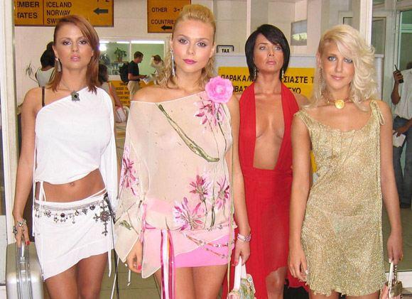 Звездный состав группы «Блестящие» перед уходом Жанны Фриске