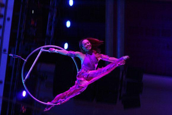 Жанна Фриске в реалити-шоу «Цирк со звездами»
