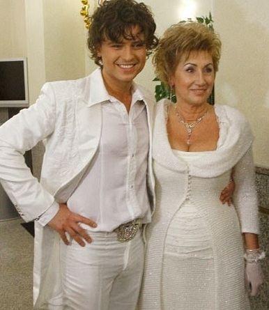 Прохор Шаляпин с законной женой