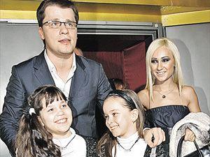 Гарик Харламов с бывшей женой и детьми