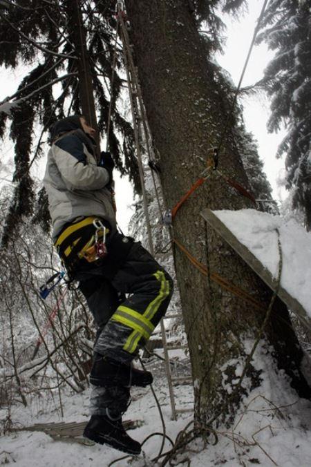 В компании работают опытные альпинисты