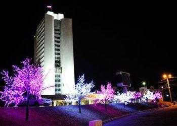Московские парки будут освещать светодиодные светильники