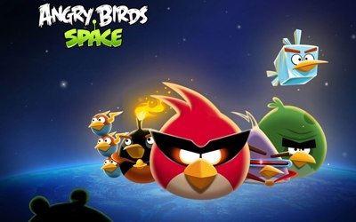 Злые птички в космосе