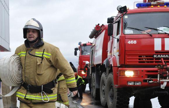 В Москве обрушилась крыша административного здания
