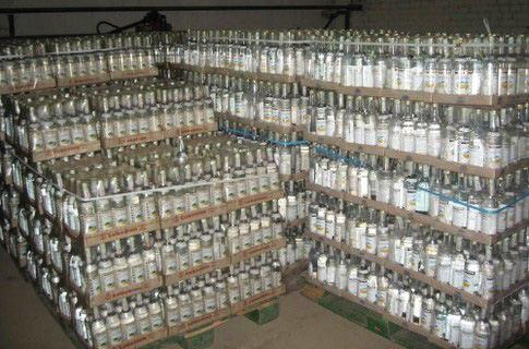 Астраханский бизнесмен намеревался продать 21 тонну «паленой» водки