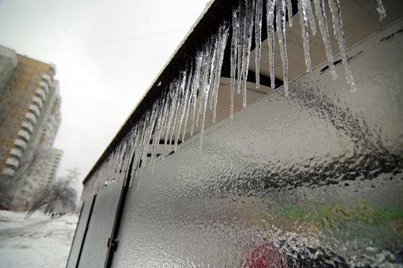 Ледяной дождь в Москве и области закончится во второй половине дня