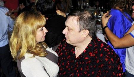 Андрей Разин был женат трижды