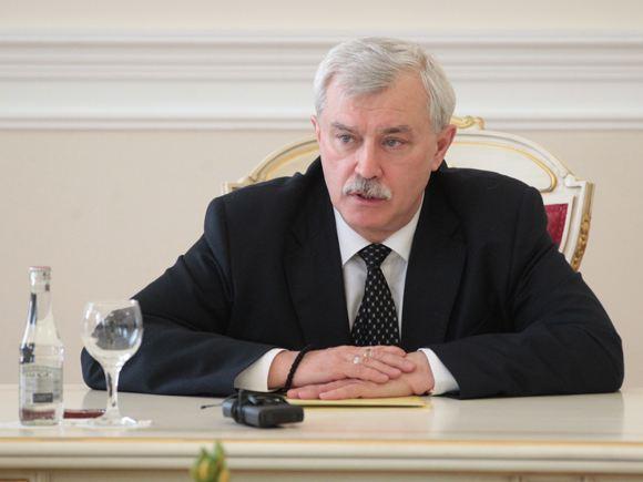 В Кремле отрицают, что губернатора Санкт-Петербурга хотят снять с должности