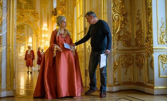 Julia Snigir appeared in the image of Catherine the Great