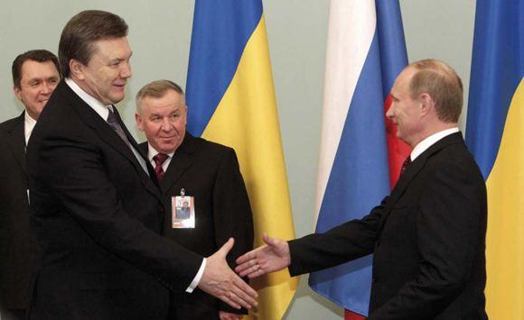 Путин не обсуждал с Януковичем вступление Украины в ТС
