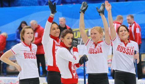 Россиянки «всухую» обыграли итальянок на соревнованиях по керлингу
