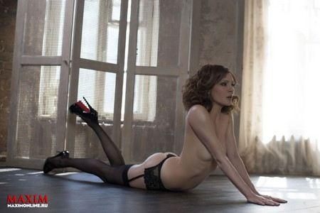 Елена Подкаминская снималась в откровенных фотосессиях для журнала «Maxim»