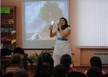 В Чебоксарском интернате прошло литературное мероприятие в целях популяризации художественной литературы