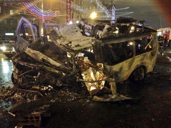 На Кутузовском проспекте произошла серьезная авария