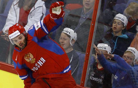 Российская сборная по хоккею обыграла команду Швеции