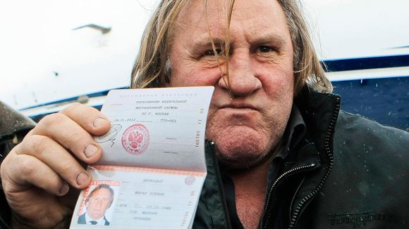 Депардье застраховал свое здоровье на 500 тысяч рублей
