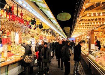 В Москве открыли рождественские ярмарки