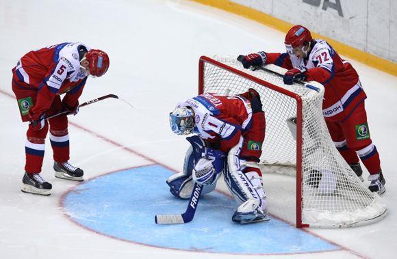 Российская команда уступила чехам на Кубке Первого канала