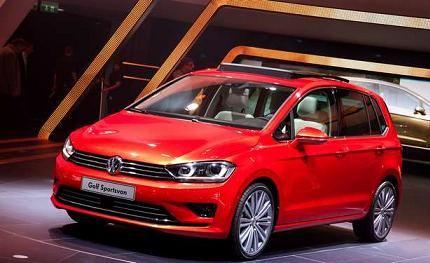 Новенький VW Golf Sportsvan