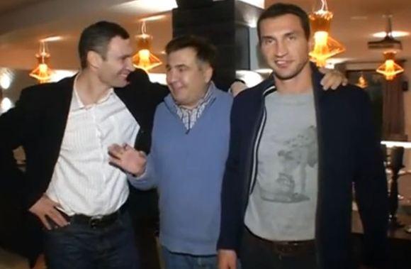Саакашвили закрыли въезд на Украину