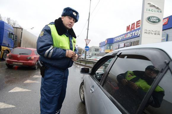 В Москве был сбит инспектор ГИБДД