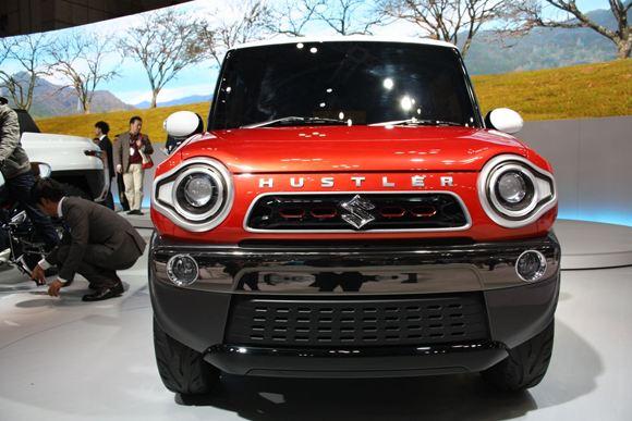 Suzuki выпустила автомобиль Hustler