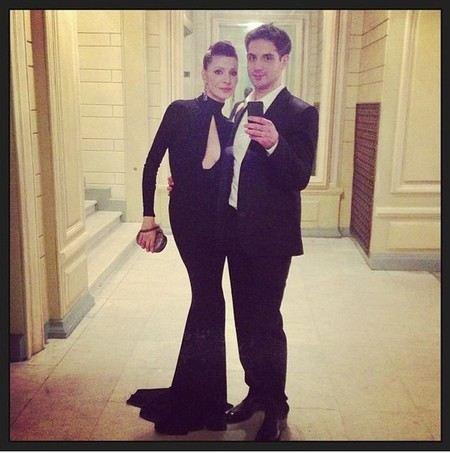 марк богатырев с женой фото
