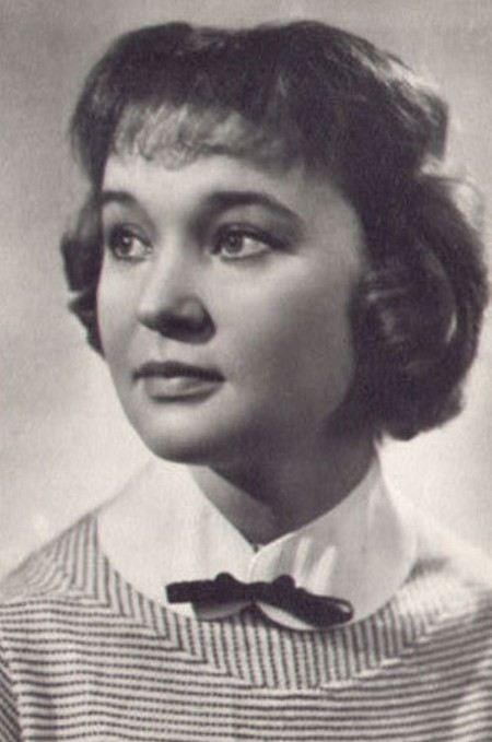 Lyudmila Gurchenko in her youth