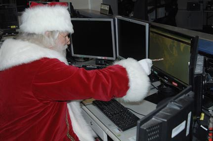 Миллионы людей следили за маршрутом Санта-Клауса