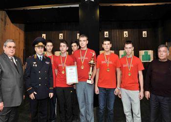 26 декабря 2013 года учащиеся 6-ти школ Ростова-на-Дону участвовали в соревнованиях по меткости