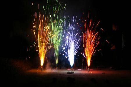 Фейерверки повышают риск пожара
