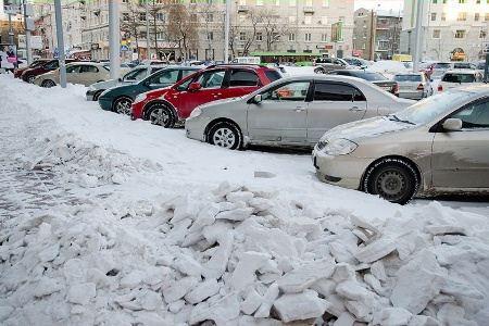 Неправильно припаркованные авто уберут эвакуаторы